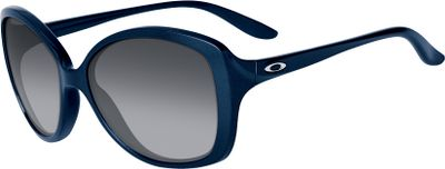 Entertainment The Oakley Womens Sweet Spot Nonpolarized Sunglasses feature classic styling redesigned for the modern woman, with flattering large, round lenses that offer superior sun protection. O Matter frames maximize comfort with a three-point fit that eliminates pressure points. Plutonite lens material filters out 100% of UVA, UVB, UVC and harmful blue light. Unique lens curvature optimizes peripheral vision. Keep your lenses fresh with the included case. Meets ANSI Z80.3 optical and basic impact standards.Fits size: Medium.Available: Black Grey Gradient Lenses/Pacific Frames. Size: Large. Color: Black Grey Gradient. Gender: female. Age Group: adult. Type: Polarized. - $110.00