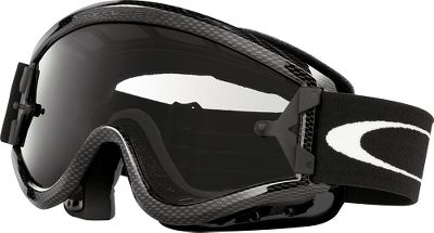 Ski There are two things that are readily noticeable about Oakley goggles: style and quality. Oakley is world-famous for both. The L-Frame Goggles are made to fit over prescription eyewear with the same features as the O-Frame Goggles, including a well-known and flexible urethane frame construction that stays flexible, even in cold weather. Scratch-resistant, superclear Lexanlens. Wide, adjustable strap with nonslip silicone strips. Glare-reducing interior. Sealed fit, triple-layer moisture-wicking face foam. Vented lens frame to reduce fogging. Tear-off mounting hardware not included.Colors: Carbon Fiber Frame/Clear Lens, Silver Frame/Clear Lens. Color: Silver. Type: Goggles. - $40.00
