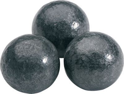 Constructed for use in reproduction smoothbore muskets, these pure-lead round balls provide affordable shooting enjoyment. Per 20. Available: .69 caliber (.678, 480 gr.) .72 caliber (.715, 550 gr.) .75 caliber (.735, 598 gr.) - $12.99
