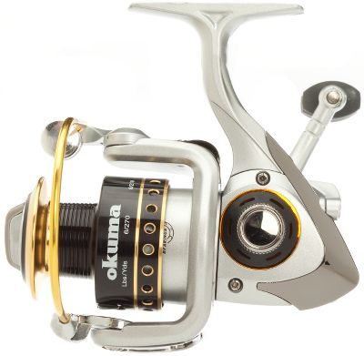 Fishing A smooth-operating and affordable spinning reel that will serve you well in freshwater pursuits for everything from panfish and trout to walleye. The four-bearing drive system includes three ball bearings and one quick-set anti-reverse roller bearing for smooth cranking and solid hook-setting power. The corrosion-resistant graphite body contains an S-curve oscillation system and RESII computer-balanced rotor-equalizing system. Machined and anodized two-tone aluminum spool is ported. Oversized aluminum bail wire. Multidisc oiled-felt drag washers. Backed by a one-year manufacturer's warranty. Type: Spinning Reels. - $29.99