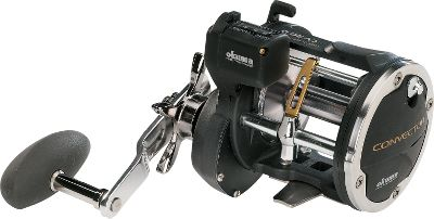 Fishing An oversized gear box with XL gearing which provides 50% more drag surface, coupled with a self-lubricating gear system, makes the Convector series some of the smoothest-operating reels in Okuma's line. The Speed Loc Gearing System incorporates a dual-step pinion gear system pn star drag reels for positive engagement at high speeds. This system also allows for instant gear engagement and hooksets from freespool. The ergonomic forged-aluminum handle has a unique oversized handle knob for comfort and easy handling. All models include a light-weight, corrosionproof graphite body; a machined-aluminum spool; graphite rod clamp and an analog linecounter. Type: Saltwater Conventional Reels. - $96.99