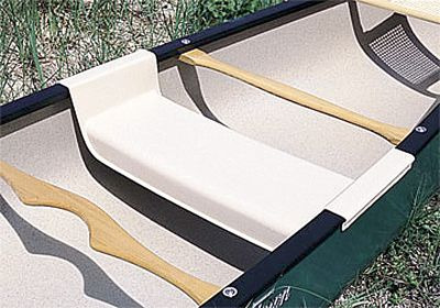 "Kayak and Canoe This canoe seat quickly snaps in place on any 34""- to 37""-wide canoe so you can carry extra passengers or sit in the center while paddling solo. It is constructed of sturdy ABS and supports up to 300 pounds. - $109.99"