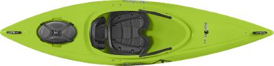 Kayak and Canoe Beginning and recreational paddlers who want a little extra out of an entry-level kayak will like what they see in this model. Sit back and relax in the adjustable Comfort Flex seat with added padding that delivers cushioning for long hours on the water. Stern hatch for storing your daily essentials. Adjustable foot braces and thigh pads ensure boat-stabilizing control. Other highlights include: paddle keepers, cup holder and comfortable carry handles for easy transport.Dimensions: 114L x 28.5W.Weight: 39 lbs.Maximum capacity: 225-300 lbs.Colors: Lime, Cloud, Sunrise, Yellow. - $429.99