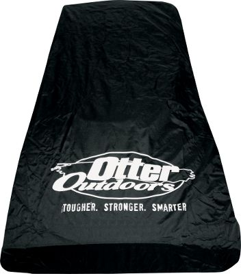 Fishing Designed to fit sleds with the fish house and seats attached, the Otter Travel Covers are durable, waterproof and boast a sewn-in shock cord to seal out the elements.Available: Cabin Fits Otter Cabin House/Sled Package Cottage Fits Otter Cottage House/Sled Package Lodge Fits Otter Lodge House/Sled Package - $69.99