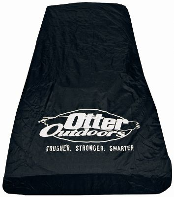 Fishing Protect your Otter package and gear with an Otter Fish House Travel Cover. The heavyweight polyester fabric is extremely durable and waterproof, and features a shock cord sewn into the hem to seal out snow, slush, water and mud. Designed to fit Otter Pro and Otter Wild sleds with fish houses and seats attached. Imported. Available: Cabin Cover (Model #200014) Lodge Cover (Model #200016) Cottage Cover (Model #200015) Resort Cover (Model #200022) Size: COTTAGE COVER. Type: Sled Accessories. - $54.99