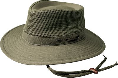 Fold it. Roll it. No matter how you pack this 100% cotton canvas hat it pops back into shape with a built-in UPF rating of 40 ready to protect you from the sun. 4 crown, 3 brim. Imported.Sizes: S-XL.Colors: Khaki, Olive. - $44.99