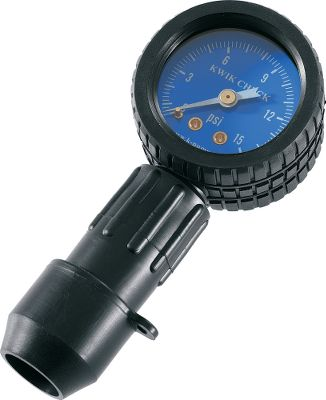 Fishing Check the air pressure on your inflatables with this easy-to-use gauge. Just insert the gauge into the valve, remove it and read it. For Boston valves. Color: Kwik Check Boston. - $40.00