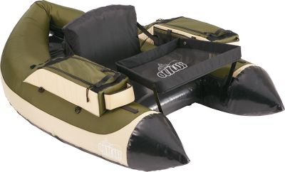 Fishing For those anglers who enjoy fishing still water and need stealth to get close to wary fish. The olive/tan color combination doesnt spook fish. Higher seat delivers all-day comfort and a warmer and drier fishing experience. The high seat position also makes it easier for fly fisherman to cast. High-quality urethane bladder withstands rugged use, and the PVC/pack-cloth shell resists punctures and tears. Two large gear pockets store essentials, while two beverage holders keep your favorite drink at hand. Behind-the-seat storage system keeps your gear organized. Velcro rod holder for hands-free tasking. D-ring attachment points for securing shoulder straps makes transport easier. Weight: 12 lbs. Weight capacity: 300 lbs. Colors: Olive/Tan, Grey/Orange. Color: Orange. Type: Float Tubes. - $449.00
