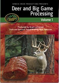Hunting Once your game is on the ground the important work begins, especially if you intend on mounting your trophy. For many, the best way to learn is by watching an expert and this DVD lays it all out for you in an easy-to-follow format. You'll find in-depth instruction on field dressing, caping, aging, deboning, meat processing and packaging. 170-minute DVD. - $15.99
