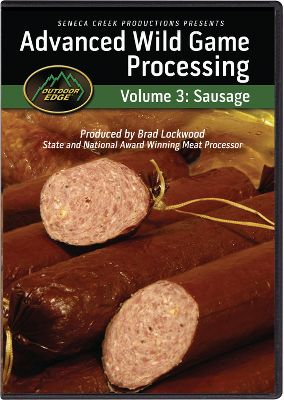 Nothing makes your tastebuds water quicker than cooking a pan of sausage that you've made yourself, with just the right amount of seasoning for your tastes. Learn to manufacture a variety of fresh and smoked sausage products in your home smoker or oven. Understand principles of surface moisture, humidity and natural smoke application. 150-minute DVD. - $19.99