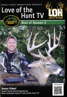Hunting Enjoy the thrill of the hunt and expand your arsenal of wild-game processing techniques. Brad Lockwood takes you from the field to the kitchen with mule deer, whitetail, antelope, moose, bear, fish and frog. 180 minutes. DVD. - $5.88