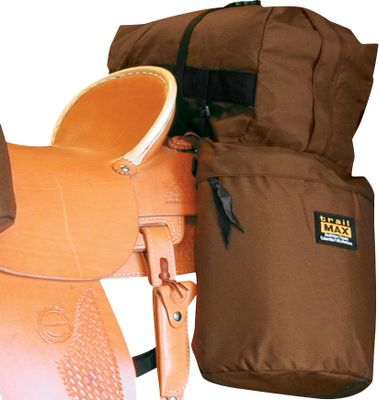 Hunting Pack along the equipment you need in these water-resistant saddlebags. Each is designed with rugged 1,000-denier Cordura nylon. The foam inserts provide insulation and protection for fragile items. Measure: 14H x 12W x 4-1/2D. Colors: Brown. Color: Brown. Gender: Male. Age Group: Adult. - $89.99