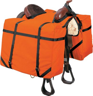 Hunting These durable 1,000-denier Cordura panniers roll up and tie behind your riding saddle when not in use. The large size (24 W x 18 H x 14 D) easily accommodates a deer or two elk quarters. Imported. Gender: Male. Age Group: Adult. Type: Panniers. - $89.88