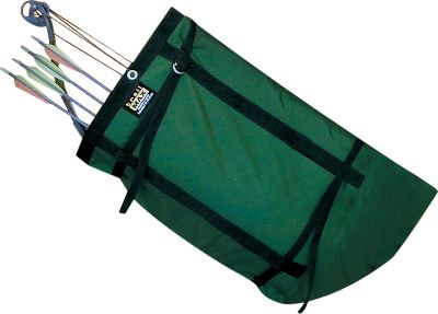 Hunting Use this padded scabbard with a compound bow and attached quiver. It can hang on either side of the saddle and face forward or backward. Also works on an ATV. 1,000-denier nylon outer shell with 12 of tricot foam padding. Color: Forest Green. Color: Forest Green. - $49.99