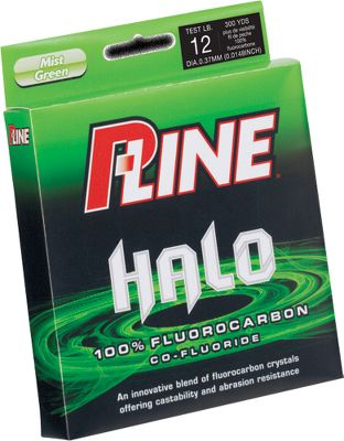 Fishing The future of fluorocarbon fishing line is Co-Fluoride, which blends various pure fluorocarbon crystals. This gives anglers the best combination of strength, sensitivity, castability and invisibility underwater. Halo has a higher specific gravity, giving the line a much faster sink rate. Per 200-yd. spools. Available: 2, 4, 6, 8, 10, 12, 15, 17, 20-lb. test.Color: Mist green. - $17.88