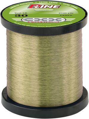 Fishing P-Line CXX Xtra-Strong Copolymer stands up to the roughest structures and strongest fish, thanks to its highly abrasion-resistant coating. Salmon and steelhead and bass anglers prefer the stealth, translucent moss-green color. Color: Green. LB Test Yds 4 3,000 6 3,000 8 3,000 10 3,000 12 3,000 15 3,000 20 3,000 25 2,700 - $27.88