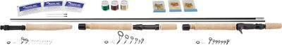 Fishing Pacific Bay International leads the rod-making industry with top-selling components and second-to-none quality. Now, the expert rodsmiths at Pacific Bay have selected the most successful combinations of rod components and packaged them in these convenient all-in-one kits. Each includes all the components you need to build a custom rod blank, handle assembly, reel seat, guides, winding check, tip top, thread, rod glue, rod finish and complete instructions (tools not included). Custom Kits feature an IM6 graphite blank and includes three spools of thread; Green, Brown and Gold. - $29.88