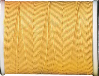 Fishing Quality thread is the foundation of quality rod building. Pacific Bay Thread is long-wearing and resists the damaging effects of epoxies and resins. Available in a variety of colors to perfectly match your rod-building project. Requires no color preserver. Per 100-yd. spool. Sizes: A, C. Colors: (002)Gold, (003)Black, (004)Yellow,(007)White, (008)Brown, (016)Dark Green, (099)Ruby Red, (201)Candy Apple Red, (218)Royal Blue, (452)Mocha. - $0.92
