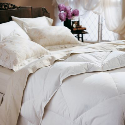 Hunting Enjoy the fluffy, luxurious warmth of a premium down comforter for much less than you might expect. Lightweight 550-fill-power duck down delivers year-round warmth. The 15 diamond-box design allows down to fully loft, while preventing fill shift. Cover is smooth 230-thread-count 100% cotton. Hypoallergenic. Manufacturers three-year warranty. Imported.Available: Twin (63 x 86) Full/Queen (86 x 86) King (101 x 86) Type: Comforters & Duvets. Size King. - $172.88