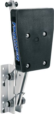 Fitness Adjustable Motor Brackets are heavy-duty brackets that hold your auxiliary motor. Stainless steel springs (on 20hp model), cadmium-plated bolts. Polyethylene mounting block. Four adjustable running positions: 2-1/2 , 5-1/2 , 9-1/2 and 14 of travel. Not for use with 4-stroke engines. Color: Stainless Steel. Type: Adjustable Motor Brackets. - $109.88