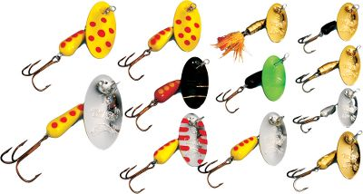 Fishing The Deadly Dozen is an assortment of Panther Martin's top-producing spinners. Proven fish-catching spinners that will produce well on smallmouth and largemouth bass, trout, salmon and pike. A tremendous value, the lure kits come in a reusable plastic case. - $26.24