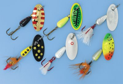 Fishing Six of Panther Martin's most popular and effective spinners for bass and trout. Take advantage of the sonic vibration that calls out fish. Lead body for maximum depth. Size: BS & TRT ANHLTR KT. - $11.88