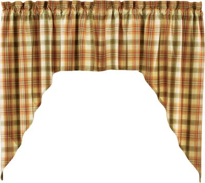 Dressing up windows adds just the right accent to complete a rooms atmosphere and dcor, and doing so is easy and affordable with this 36 Swag. It is a unlined top window treatment for attractive framing. Crafted of easy-to-care-for 100% cotton. Machine wash cool, line dry. Per pair. Imported. 72L x 36W. Color/pattern: Whispering Pines. Color: Whispering Pines. Gender: Male. Age Group: Adult. - $14.99