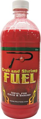 Fishing Its a well-known fact, salmon-egg oils and amino acids are among the best shrimp and crab baits available, and this is the industry standard. Deadly effective for all species of crab and shrimp, this simple-to-use bait additive is based on Pautzkes legendary Balls O Fire salmon-egg essence, with the addition of a proprietary mix of scents and feeding stimulators to attract crab and shrimp from a wide area. Size: 32-ounce Gender: Male. Age Group: Adult. - $8.99