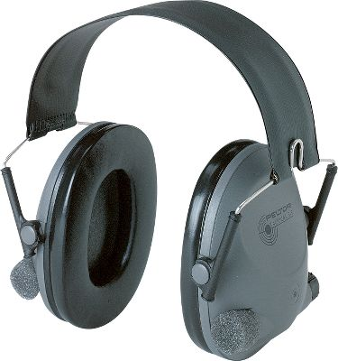 Entertainment Get the hearing protection you need and the sound amplification you want with the new Tactical 6. This unit effectively reduces hazardous noises from firearms to harmless levels within two milliseconds and suppresses any sounds over 82dB. But normal conversation and range commands remain perfectly audible. Independent volume controls on each ear cup let you customize amplification while the stereo microphones enhance sound localization. Folding design stores easily in your shooting bag, and it has a regular headband. This unit weighs only 8.8 oz. Operates for up to 200 hours on four AAA batteries (not included). - $59.99
