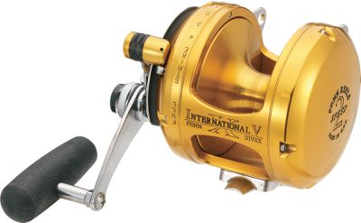 Fishing Penn International VSX models are constructed to achieve the extreme drag ranges expected by anglers fishing with super-braided line. But because of Penns engineering, the drag stays smooth throughout the entire range of settings. Machine-cut, stainless steel components stand up to the rigors of hard-fighting fish. Gold anodized one-piece frame resists corrosion in all types of water conditions. The forged, machined spool and sideplates have tight tolerances. The four aircraft-grade shielded ball bearings deliver silky smooth performance on every turn of the crank. The stainless steel reel stand can easily handle the torque of fighting big fish. Loud, durable clicker alerts you to strikes. Made in USA. Color: Stainless Steel. Type: Saltwater Conventional Reels. - $549.99