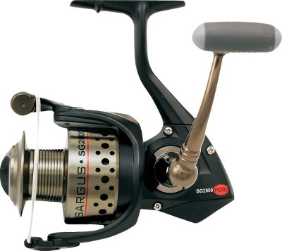 Fishing Legendary Penn quality is evident in the precision construction of this lightweight, yet powerful reel. The aluminum alloy body, cover and rotor withstand the harshest conditions. Optimally geared for fast retrieves and tough fights, soft-feel handle knob to keep you fishing comfortably all day. 5000 and 6000 sizes have an oversized handle knob. - $89.88