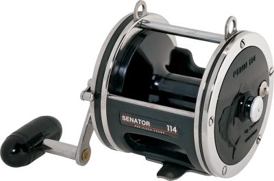 Fishing Even after decades, the Penn Senator remains the most trusted, most powerful star-drag reel on the market. In fact, most of the original Senators are still fishing after years of service. Its no mystery as to why. The components of the reel are made up of solid pieces like a stainless steel pinion gear, manganese-bronze main gear and anodized-aluminum spool. The multidisc drag system and heavy-duty clicker work together to land big fish. One-piece rod clamp and chrome-plated metal for durability. Imported. Color: Stainless Steel. Type: Saltwater Conventional Reels. - $109.99
