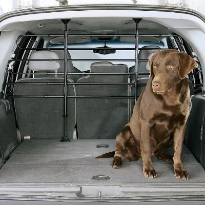 Hunting Protect your vehicle's interior from muddy paws and avoid possibly dangerous distractions by keeping your dog securely in the cargo area with this easy-to-install barricade. These 9 extensions are available for vehicles with a floor-to-ceiling height greater than 45 . Extensions only; Dog Barrier sold separately. - $18.88