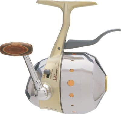 Fishing The popular Underspin reel isn't just for ultralight enthusiasts anymore. Loaded with 6-lb. test or 10-lb. test for bigger lures and bigger fish. It sports the same four ball-bearing drive as the original Underspin. And each has a stainless steel front cone and rear cover, titanium line guide and dual pickup pins, lightweight graphite frame, spool-applied adjustable disc drag system, on and off anti-reverse, left/right convertible retrieve, machined aluminum handle with handsome rosewood knob. - $19.88
