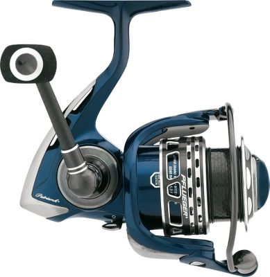 Fishing This reel delivers lightweight handling and top-of-the-line durability by replacing average stainless steel parts with high-end titanium, carbon fiber and magnesium components. Nine Stainless steel ball bearings deliver ultrasmooth performance. Near-frictionless XCR bearing provide up to 10 times more corrosion resistance. Lightweight, ported aluminum spool with a double-anodized finish and a high-strength carbon arbor. The ultralightweight, magnesium body, rotor and sideplate provide premium corrosion resistance and durability. Its solid titanium main shaft is 30 stronger and 43 lighter than comparable stainless steel shafts. Carbon handle with EVA knob is 20 lighter than comparable aluminum handles. Sealed carbon drag system and twist-preventing titanium-coated line roller. Instant anti-reverse bearing for solid hooksets. Spring-loaded line clip. Sure-click bail. Easily converts to left- of right-hand retrieve. Includes spare aluminum spool and neoprene carry bag. Color: Stainless Steel. Type: Spinning Reels. - $129.99