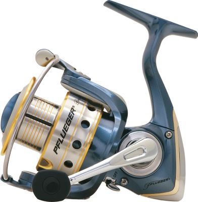 Fishing Experience smooth nine-bearing performance (6920X seven-bearing drive) at an affordable price. The President features: instant anti-reverse; a multi disc drag system; Sure-Click bail with solid-aluminum wire and large-diameter titanium-coated line roller; a machined-anodized-aluminum spool with line-protecting titanium-coated lip; and aluminum handle with soft-touch knob. Braid-ready spool eliminates the need for backing. Color: Multi. Type: Spinning Reels. - $49.99