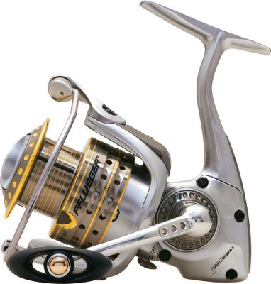 Fishing Experience legendary Pflueger performance. The Supreme features: nine stainless-steel ball bearings; instant anti-reverse; a multidisc drag system; Sure-Click bail with solid-aluminum wire and anti-twist titanium-coated line roller; a machined-anodized-aluminum spool with line-protecting titanium-coated lip; and aluminum handle with ergonomic knob. Braid-ready spool eliminates the need for backing. Type: Spinning Reels. - $69.99