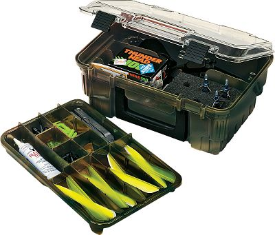 Hunting Instant organization for all your archery accessories. Lift-out tray has 8-16 adjustable compartments to fit different-shaped items. Cored foam inserts hold both fixed-blade and mechanical broadheads. Carry handle for easy transport. Camo finish. Dimensions: 11-1/2 x 8-1/4 x 5 . Color: Camo. Type: Archery Accessory Boxes. - $20.99