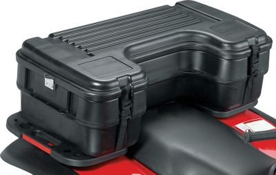 "Fishing At a large 39-3/4"" L x 20-1/2"" W x 12-1/2"" H, Plano's Rear Mount Storage Box offers a full 3.3 cubic feet of storage space to keep all your expensive hunting and fishing gear, tools and outdoor accessories organized and protected when traveling on your ATV. Hinged top provides ample access to the box contents. The heavy-duty double-wall lid combined with front and side details lets you securely strap treestands and other heavy, bulky equipment to the top for safe stowing. With two ways to attach to your ATV makes this lockable storage box a must have when you need to bring those items with you while on the trail. Type: ATV Storage Box. - $109.88"