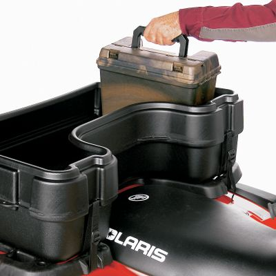 Motorsports The Plano Field Box easily fits in the lockable Rear Mount Storage Box or it can be used separately. Each 15 L x 8 W x 10 H Field Box has room for six boxes of 3 shotgun shells. The tongue-and-groove lids resist water. It also has a large lift-out tray and large secure brass-bailed latch. Gender: Male. Age Group: Adult. - $16.88