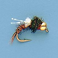 Flyfishing Pheasant-tail nymphs have always been a first-rate fly for imitating small mayfly and stonefly nymphs. This is an excellent emerger pattern, with a bead head that allows it to sink faster and attract fish with its glitter. Per 3.Sizes: 16, 18, 20. Type: Wet Flies. - $4.49