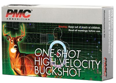 Hunting This high-velocity buckshot delivers serious knockdown power for hunting and home defense. These shells offer dense patterns and multiple pellets on target, even in heavy brush and cover, outperforming single projectiles that can deflect. 12-gauge only. Per 5. - $3.29