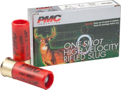 Hunting Essential for shotgun hunting, these true-flying slugs pack a wallop that is ideal for taking big game and predators. PMCs 1-oz. rifled slugs are engineered to deliver tight groups with unrivaled accuracy. Per 5. - $4.99