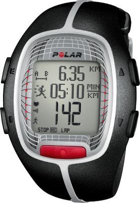 Fitness With an innovative heart-rate monitor that shows maximum heart rate, beats per minute and average heart rate of your total exercise routine, reaching your fitness goal is easier than ever with the Polar RS300X Heart-Rate Monitor Watch. Tracks your last 16 weeks of training so you know what worked and what didnt. Visible and audible alarm informs you every time your heart rate exceeds the upper limit or falls below your target zone. Polar Fitness Test with OwnIndex calculates your aerobic fitness level so you dont train too easily or too hard. Polar OwnCal shows your energy expenditure as well as your accumulated calories burned over several exercise sessions perfect for achieving both short- and long-term goals. Time-in-target-zone feature calculates the amount of total training time spent in your personal target zone. Lap counter, alarm with snooze, dual time zone and stopwatch round out the list of features. Water-resistant to 50 meters. Case diameter: 40mm. Color: Black. Color: Black. Gender: Male. Age Group: Adult. - $169.99