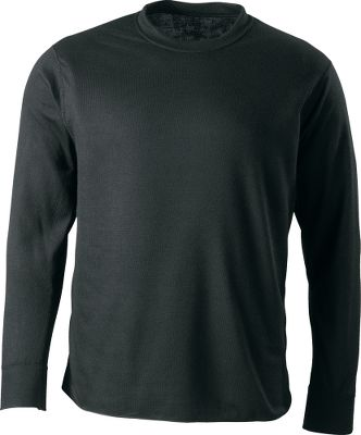 Hunting Perfect for mid- to late-season hunts, this midweight base layer offers American-made quality and a soft, cotton-like feel. Made of 100% polyester with Perma-Wick for moisture-wicking, quick-drying performance. Breathable two-ply, double-layer knit with flat seams that eliminate chafing. Comfortable relaxed fit. Made in USA. Sizes: M-2XL.Color: Black. - $7.88