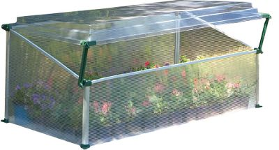 Camp and Hike These easy-to-assemble cold frames give you the protection you need when starting plants early or protecting them from late-season cold. Their compact size fits almost anywhere and provides up to 9 sq. ft. of growing space. Adjustable, ultraclear polycarbonate SnapGlas covers provide excellent ventilation while giving you easy access to your plants. Dimensions: Single: 18H x 41W x 22D. Double: 21H x 41W x 41D. Type: Greenhouses. - $79.99