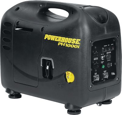 Fitness Low noise makes this Powerhouse Professional PH2700PRi Inverter Generator great for campground use and areas with noise restrictions. Generator is inverter-equipped for safe use with electronic equipment. Run at variable speed for fuel economy or at constant speed for 100% power. Powerful engine runs RV and home appliances. Comes with remote electric start that can be started up to 75 feet away, pull-out wheelie handle and pull-along wheels. Two-year warranty for residential use and one-year for commercial. 2,700-watt maximum. Size: PH2700PRI. Gender: Male. Age Group: Adult. Type: Generators. - $550.88