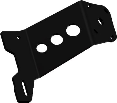 Motorsports Power-Poles Mounting Plate Adapter mounts the Power-Pole anchor system onto existing outboard motor bolts no drilling or other major transom work required. Type: Anchoring Accessories. - $169.99
