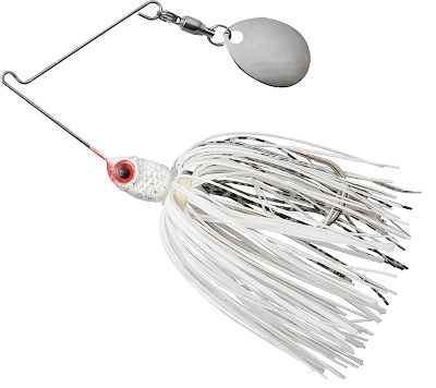 Fishing 40-strand, ultrafine Bio-Flex silicone skirt with baitfish and insect patterns. A 3-D red eye adds to the realism. The high-quality, round-bend Mustad hook is tough for fish to shake once hooked. Per each. Size: 1/8 oz. Color: (685)Alpine, (691)Lightning Bug, (692)Fire Ant, (693)Pumpkin Seed, (713)Wasp, (714)Locust. Color: (685)Alpine/ (691)Lightning Bug/ (692)Fire Ant/  (693)Pumpkin Seed/ (713)Wasp/ (714)Locust. Type: Spinnerbaits. - $2.99