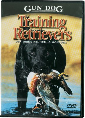 Hunting Professional trainer Kenneth C. Roebuck walks you through the steps necessary to turn your puppy into a polished hunter. You'll learn the proper methods and techniques, including puppy work; basic obedience; introduction to gunfire; basic and advanced retrieves; whistle and hand commands; distractions; honoring another dog's point; water and upland work; quartering and using a bird launcher. 90 minutes. DVD. - $19.99